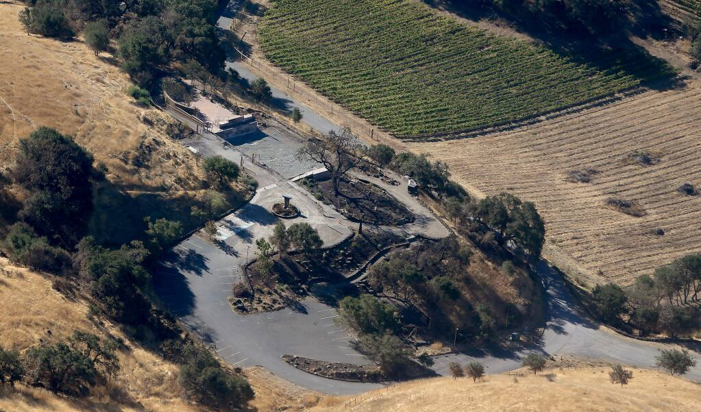 Paradise Ridge winery in Fountaingrove, Monday, Sept. 24, 2018, in Santa Rosa. (Kent Porter / The Press Democrat) 2018