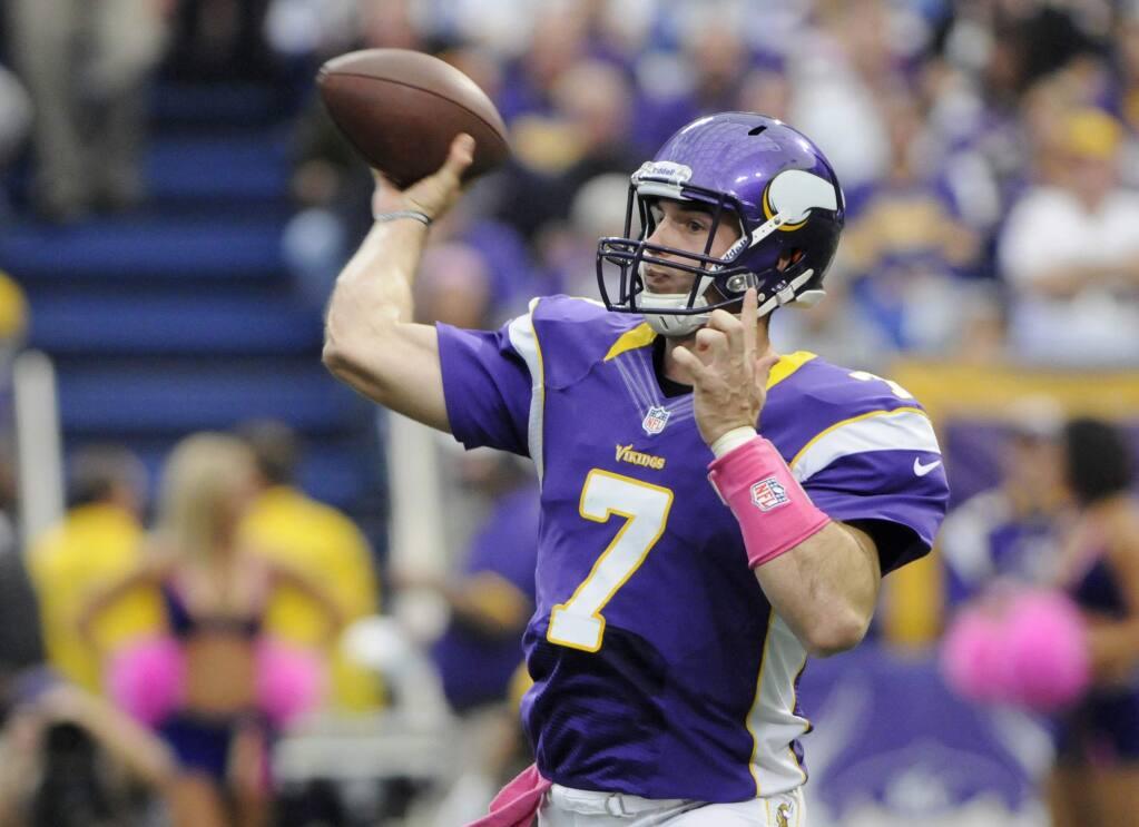 Raiders sign former Vikings quarterback Christian Ponder ...