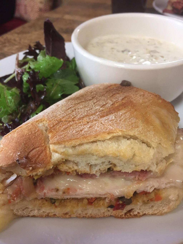 Muffuletta sandwich. (Juli Lederhaus/for the Argus-Courier)