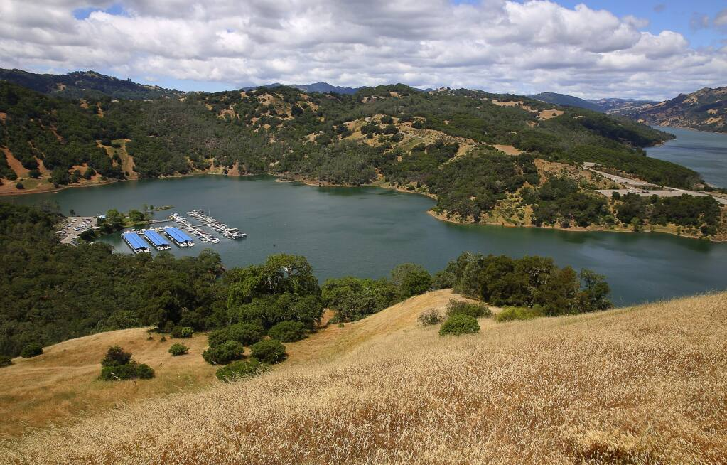 Lake Sonoma. (Christopher Chung/ The Press Democrat)