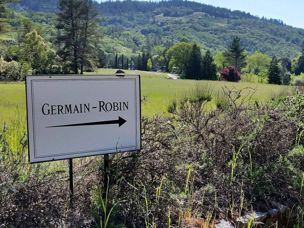 E&J Gallo Winery of Modesto announced its purchase of Ukiah's Germain-Robin, California's first luxury brandy brand. (FACEBOOK)