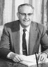 Ralph M. Brown, shown here in 1951, was the architect of the open-meetings act named for him.