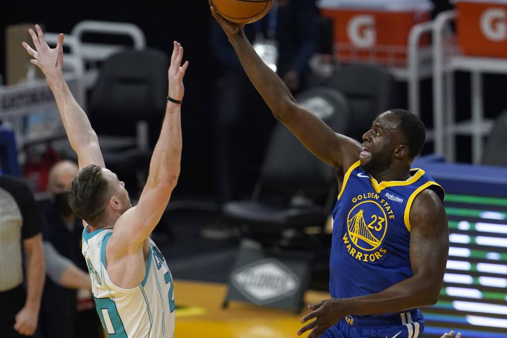 Draymond Green notches triple-double, Warriors avenge loss to Hornets