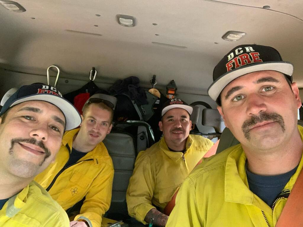 An engine with the Dry Creek Rancheria Fire Department joined a strike team headed for the Dixie fire in Butte and Plumas counties this week. (Dry Creek Rancheria Fire Department/Facebook)