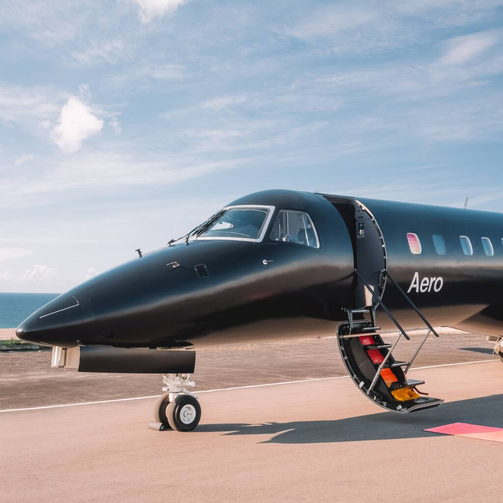 Aero, a semi-private airline for leisure travelers, has entered the Napa market with flight service from Los Angeles County's Van Nuys Airport. (courtesy of Aero)