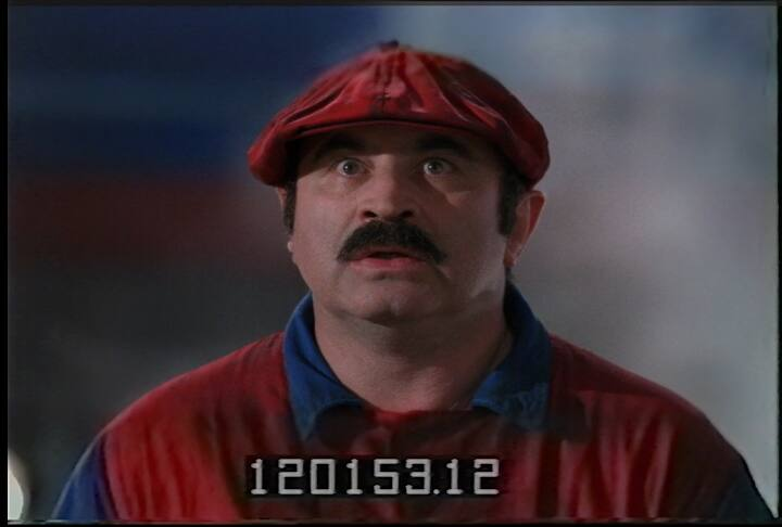 """SUPER SIZED: The legendary movie flop """"Super Mario Bros."""" just got an extended cut, using footage from an old VHS tape containing unfinished scenes. (COURTESY OF INTERNET ARCHIVE)"""