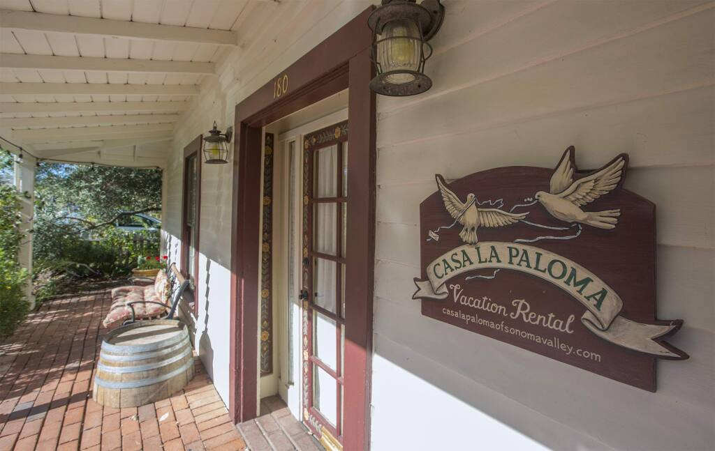 A vacation rental on East Napa St. (Photo by Robbi Pengelly/Index-Tribune)