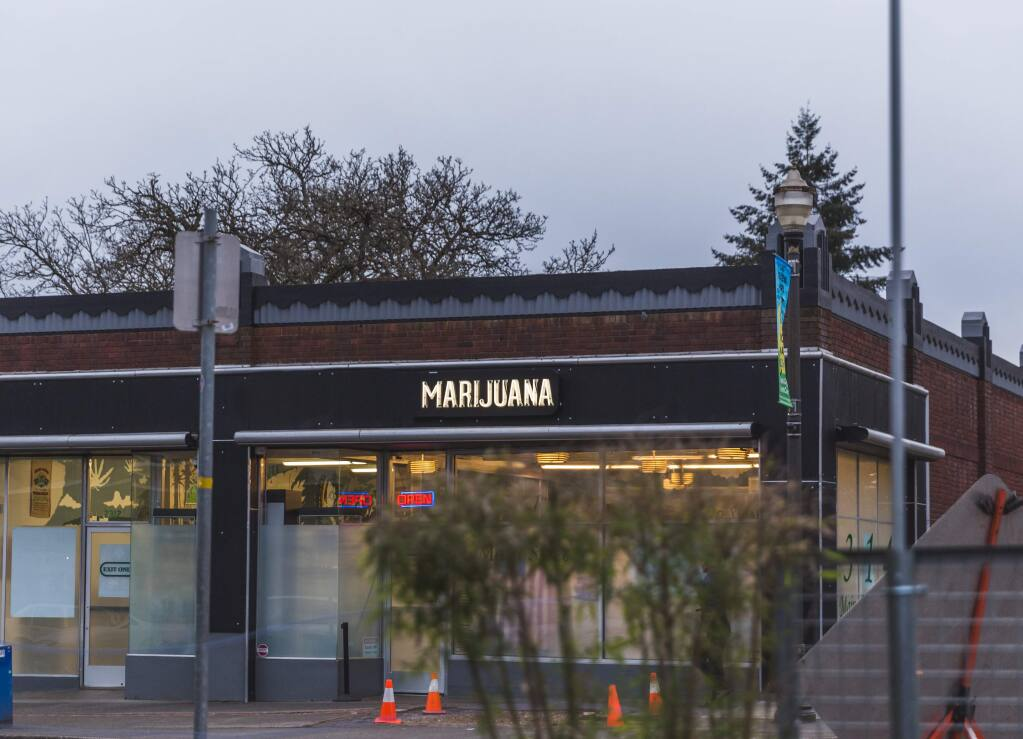 Sonoma should study the effects of cannabis dispensaries in Colorado, above, suggests letter writer.