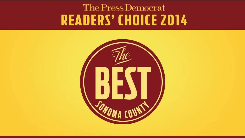 In the 2014 Best of Sonoma County awards, the readers of The Press Democrat picked their choices in dozens of categories for the very best of what Sonoma County has to offer. The following images in this photo gallery are of this year's Best of Sonoma County Award winners.