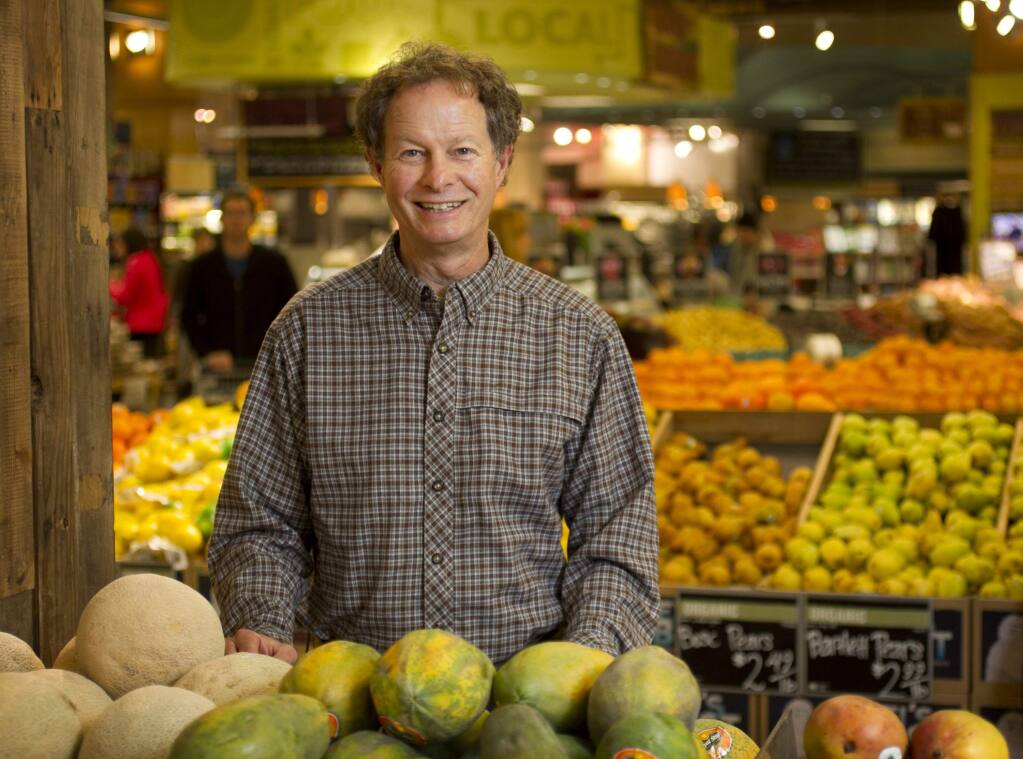 John Mackey, pictured December 31, 2012, in Austin, Texas, founder and co-CEO of Whole Foods Markets, has written 'Conscious Capitalism,' with Bentley University marketing professor Raj Sisodia. (Jay Janner/Austin American-Statesman/MCT)