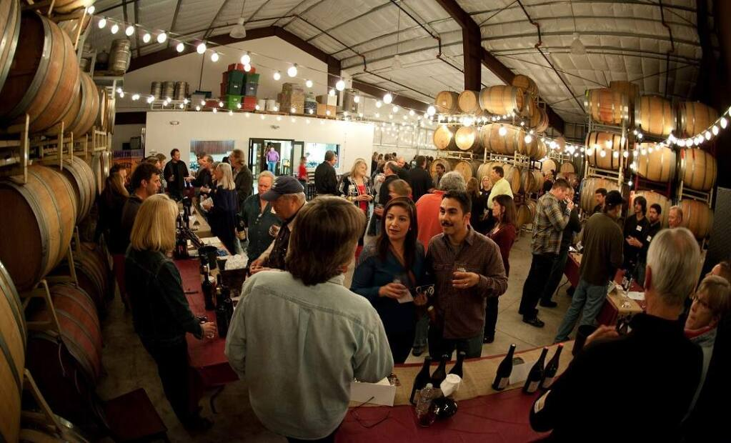 At the Garagiste Festival in Sonoma on Saturday, Feb. 15, you'll get a chance to taste wine from producers making 1,500 cases or fewer a year. (The Garagiste Festival)