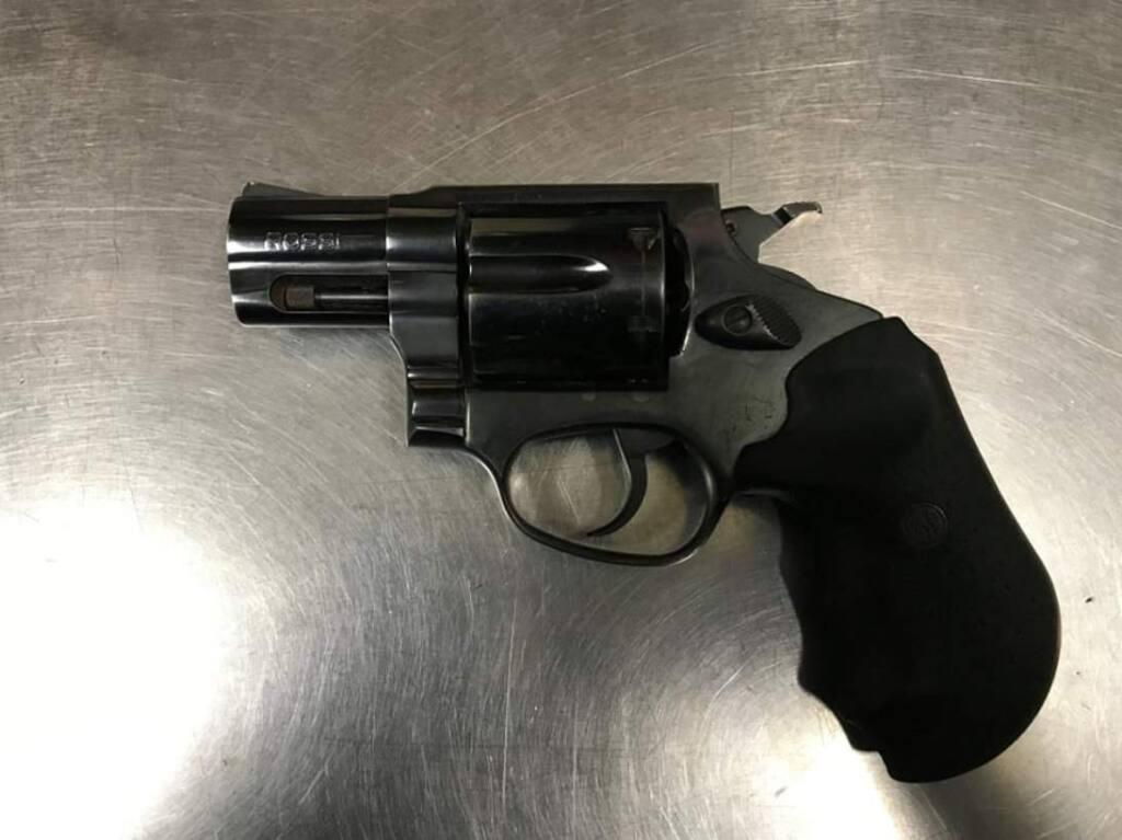 The handgun Santa Rosa Police reported they found on a convicted felon early Friday, Nov. 8, 2019. (SANTA ROSA POLICE DEPARTMENT/ FACEBOOK)