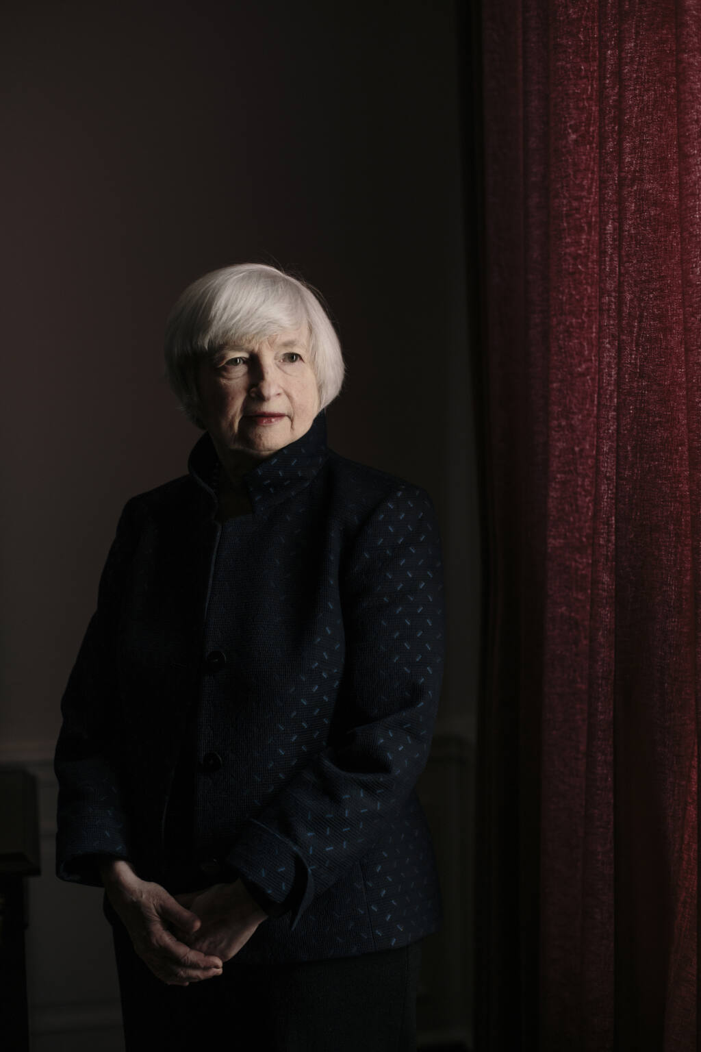 """FILE -- Treasury Secretary Janet Yellen in Washington on Oct. 31, 2017. """"To put this in a broader context, what we're looking at here is the beginning of an attempt to fix a system that is rigged against workers in favor of capital,"""" writes The New York Times opinion columnist Paul Krugman. (Lexey Swall/The New York Times)"""
