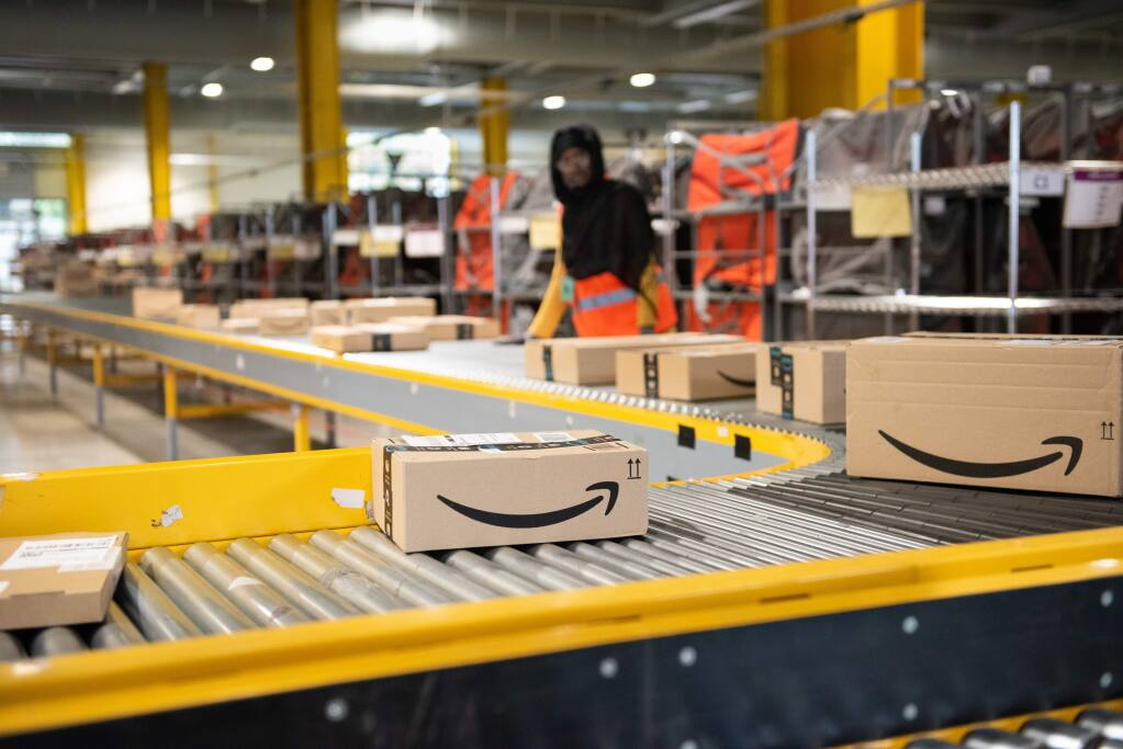 A proposed Sonoma Valley distribution center could be the first one for Amazon in Sonoma, Marin or Lake counties, but first it has to pass county review. (Submitted)
