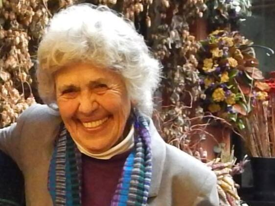 Sally Miller Gearhart in Eugene, Oregon in November 2013. (A.Kate Fritsch / Wikipedia)