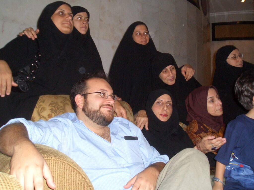 A 2006 photo of Jason Rezaian, a Bay Area native and the Washington Post correspondent in Tehran, who was taken into custody by Iranian authorities along with his wife and two other journalists.