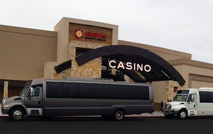A bus driver taking 40 passengers to Graton Casino was arrested on DUI charges. (Photo: Graton Casino Facebook)