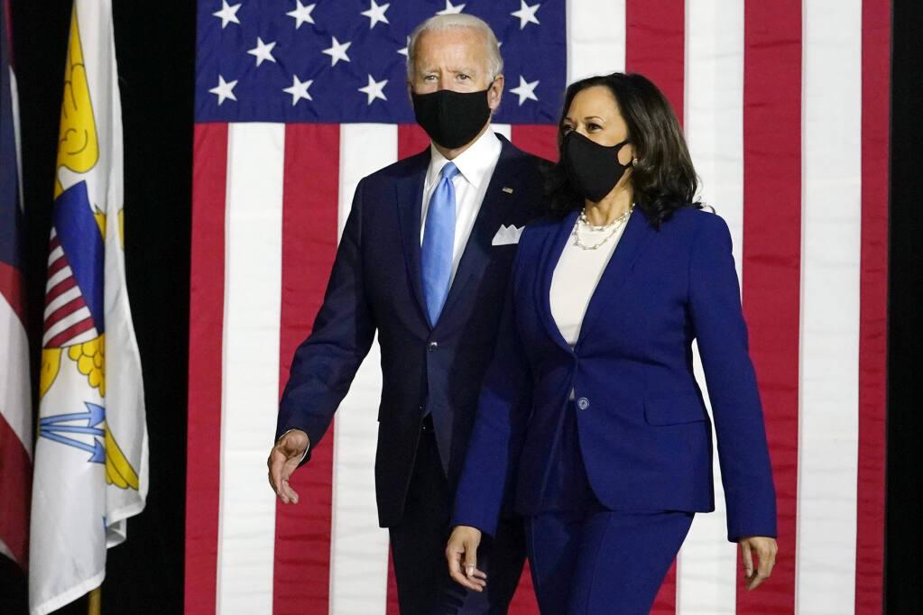 Joe Biden Introduces Running Mate Kamala Harris At First Joint Campaign Event