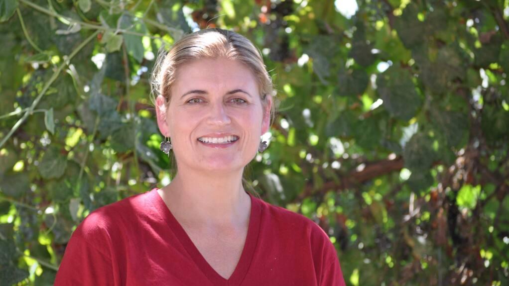 Anita Olberholster, Ph.D., University of California Cooperative Extension specialist in enology (KAREN BLOCK / UC DAVIS) July 19, 2016