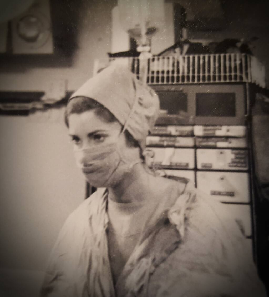 Kate O'Hare-Palmer was a nurse in the Army during the Vietnam War.