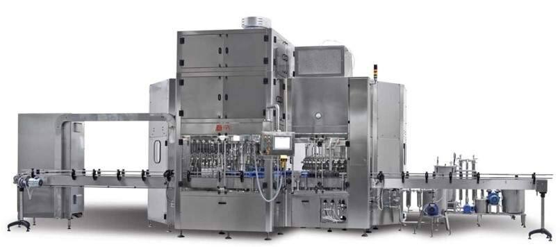 Maspack Packaging USA of American Canyon is having this equipment built for Infinity Bottling's facility, set to open in early 2018 in south Napa Valley. (MASPACK PACKAGING)