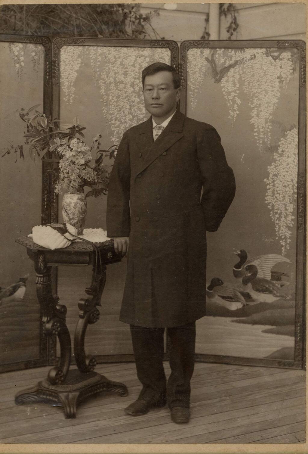 Although supported locally and by the community residents, in 1892 Harris left Fountaingrove, and deeded the property to his adopted son, Kanaye Nagasawa. (Courtesy of the Sonoma County Museum)