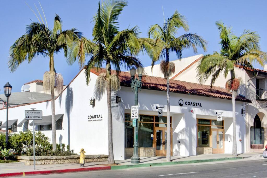 Exterior of the Coastal Dispensary in Santa Barbara. Coastal has applied for a Sonma permit, with local Jordan Kivelstadt as their partner. (Coastaldispensary)