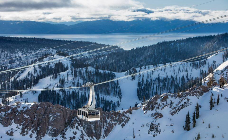 Aerial tram at Palisades Tahoe. (Palisades Tahoe)