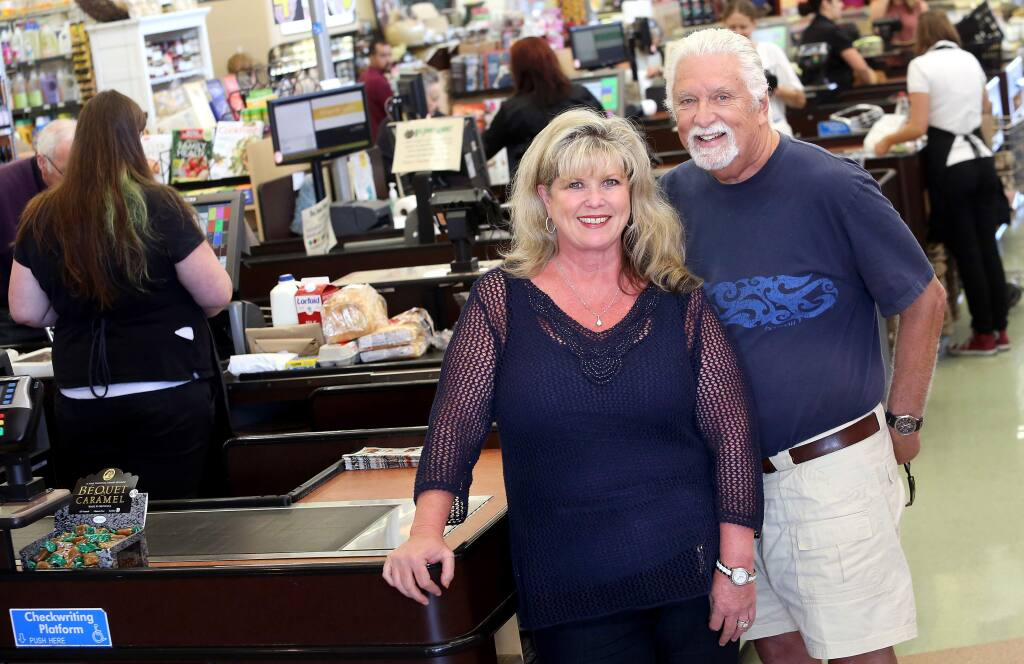John and Kim Lloyd are the owners of Big John's Market (PD FILE)