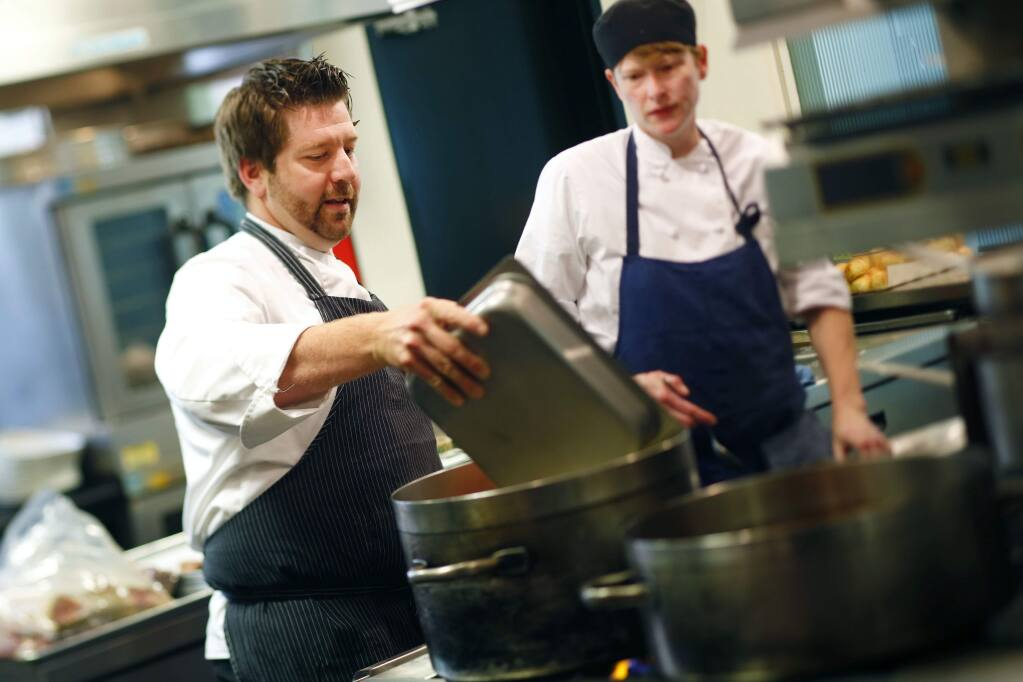 Chef Dustin Valette is buying Zin Restaurant & Wine Bar and is scheduled to take the helm on Jan. 1, 2015. (PD FILE, 2014)