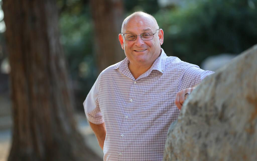 Rohnert Park Mayor Gerard Giudice, who represents District 3.(Christopher Chung/ The Press Democrat)