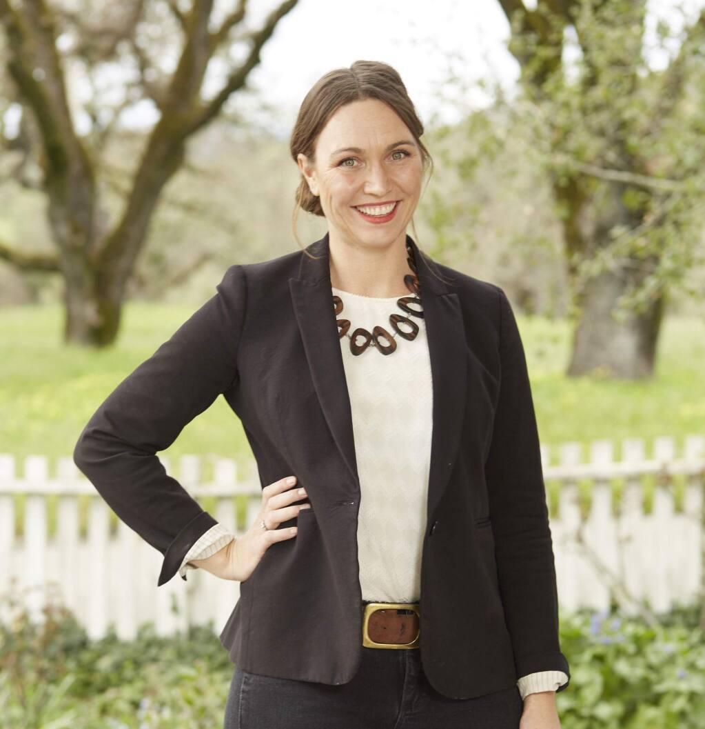 Lauren Benward Krause, 39, co-proprietor, Beltane Ranch, is a 2020 Forty Under 40 winner. (Steven Krause photo)