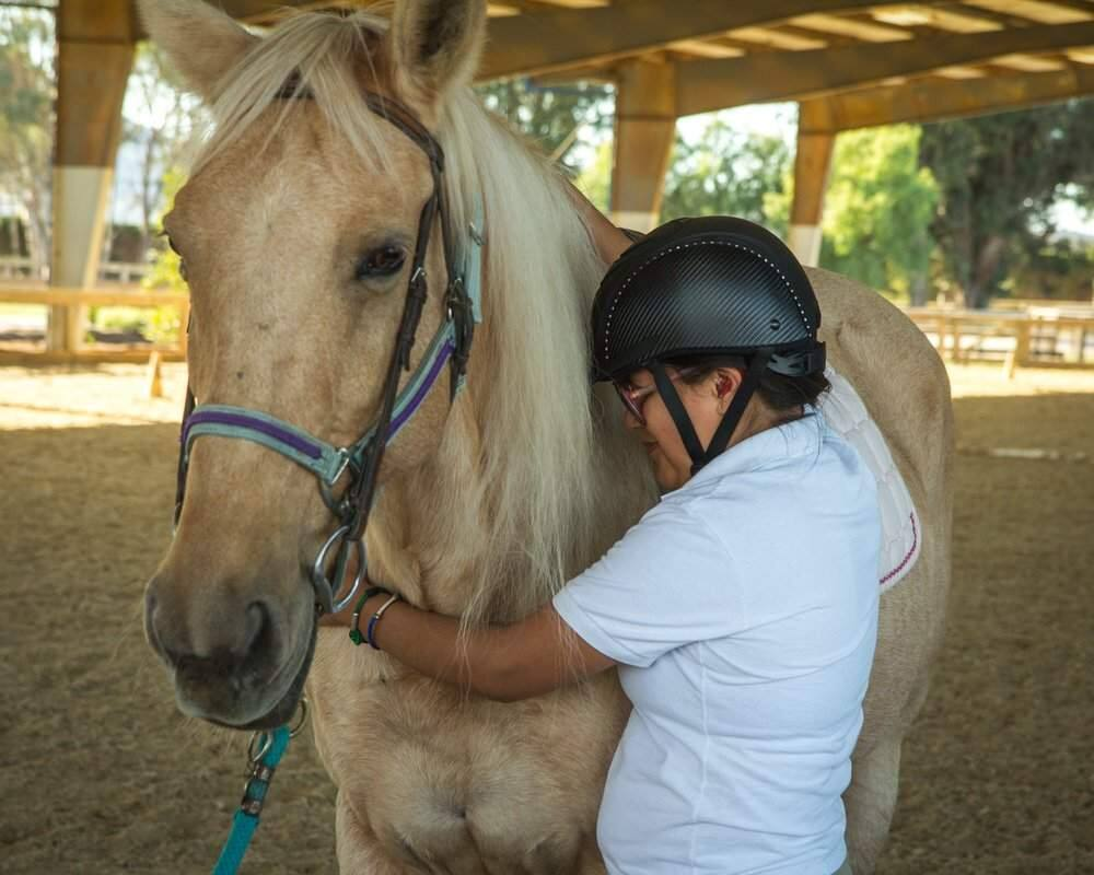 Through bonding with horses, clients find new ways to learn, grow and build confidence