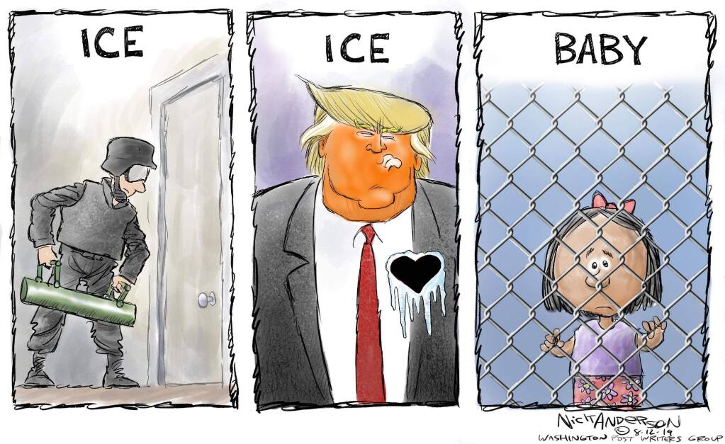 NICK ANDERSON / Washington Post Writers Group