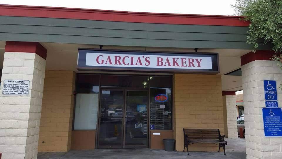 Fire damaged Garcia's Bakery in Sonoma on Tuesday, April 11, 2017. (WWW.FACEBOOK.COM/GARCIASBAKERY)