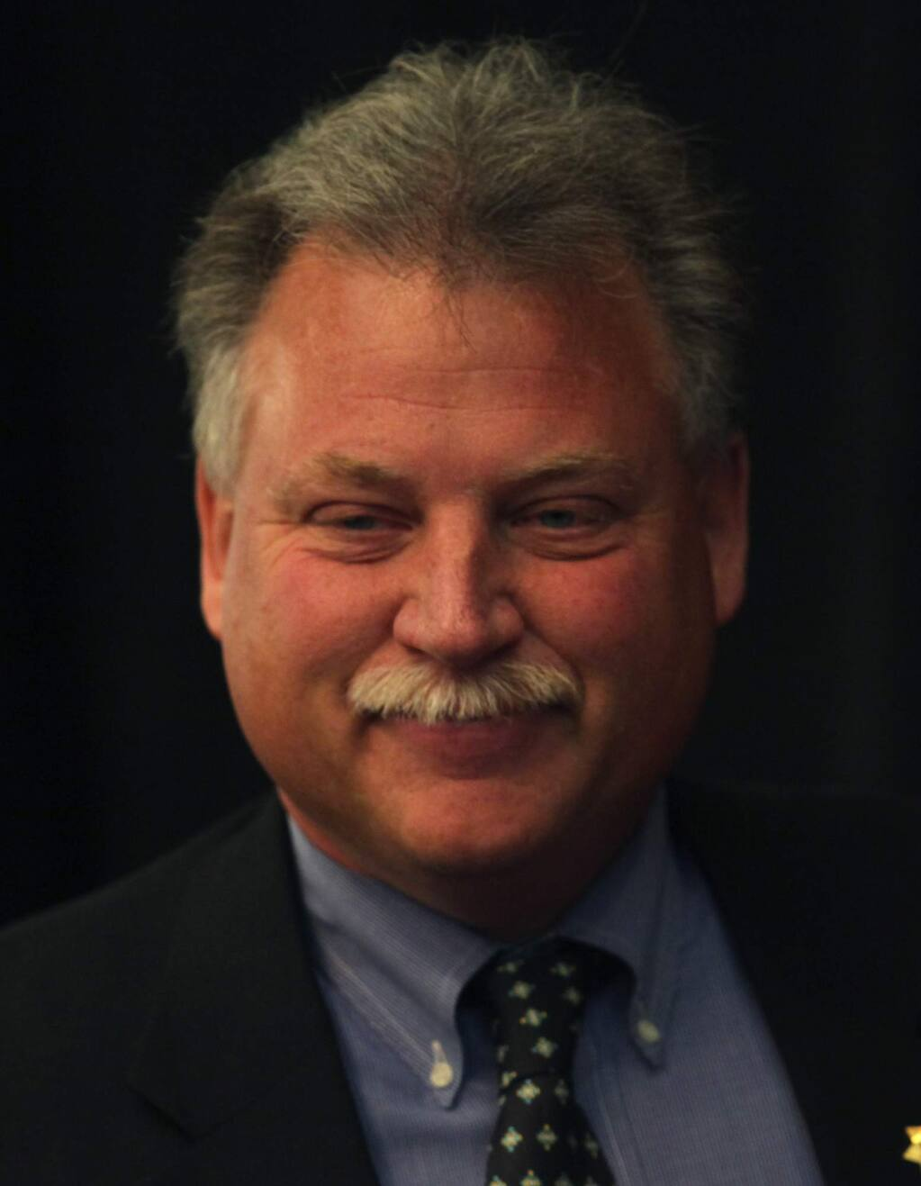 Mendocino County Sheriff Tom Allman. (Kent Porter / Press Democrat) 2010