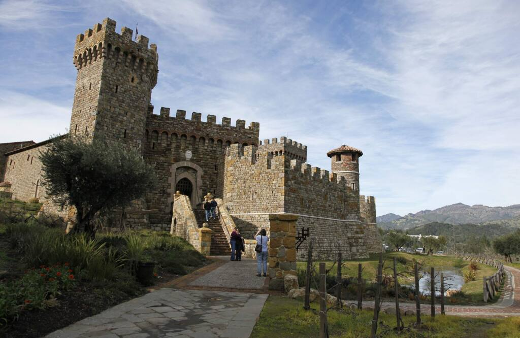 """The Castello di Amorosa, a 121,000-square-foot replica of a 13th-century Tuscan castle and winery in Calistoga, received top honors in USA Today's 10 Best Reader's Choice awards as the """"Best Tasting Room 2019."""""""