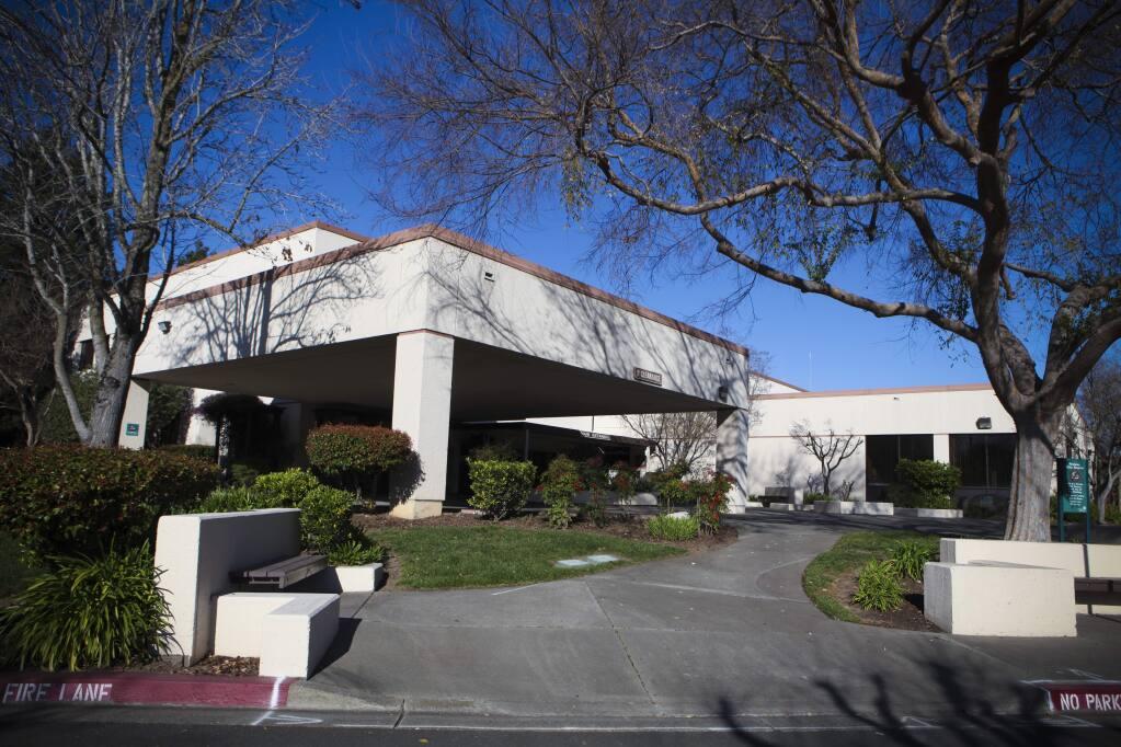 Petaluma, CA, USA. Tuesday, February 18, 2020._ The Petaluma Valley Hospital on McDowell Boulevard in East Petaluma. (CRISSY PASCUAL/ARGUS-COURIER STAFF)