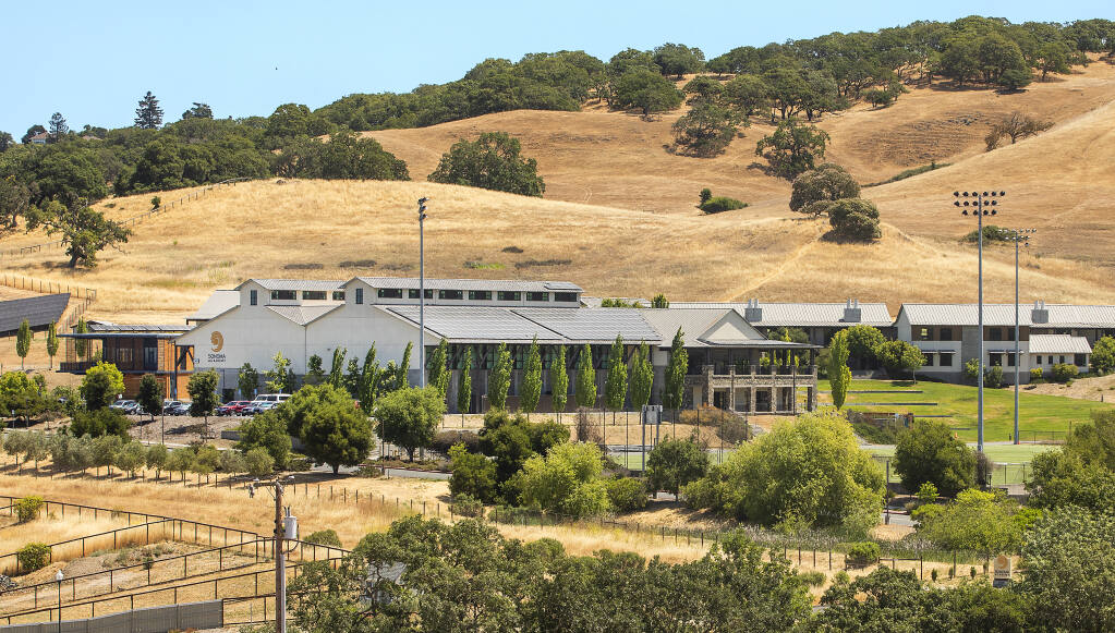 The Sonoma Academy campus in Santa Rosa. (John Burgess/The Press Democrat)