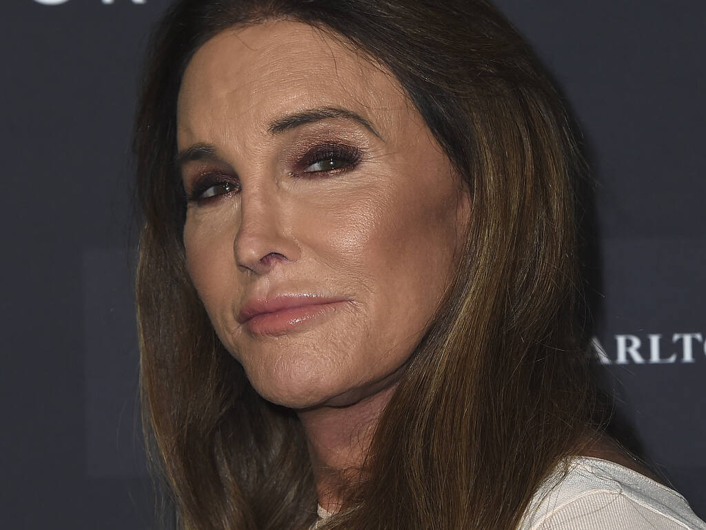 Caitlyn Jenner arrives at the Annenberg Space for Photography's Vanity Fair: Hollywood Calling Exhibit Opening on Tuesday, Feb. 4, 2020 in Los Angeles. (Photo by Jordan Strauss/Invision/AP)