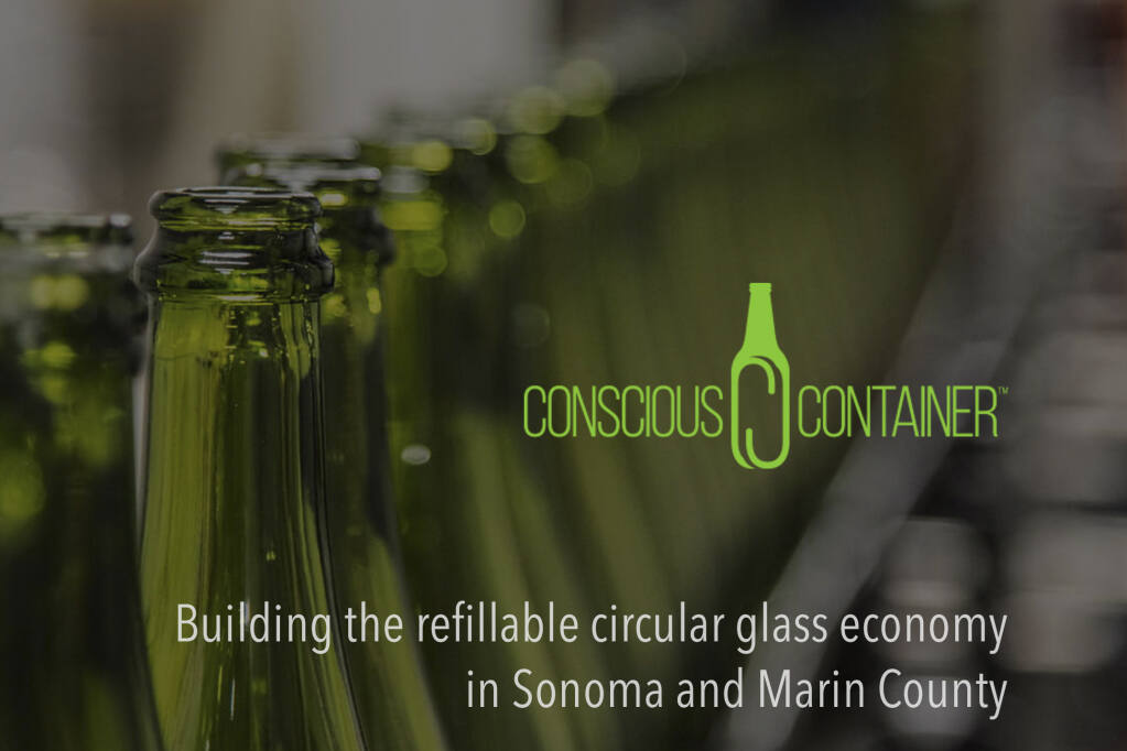 Pilot project brings back glass bottle refills in  Sonoma and Marin counties