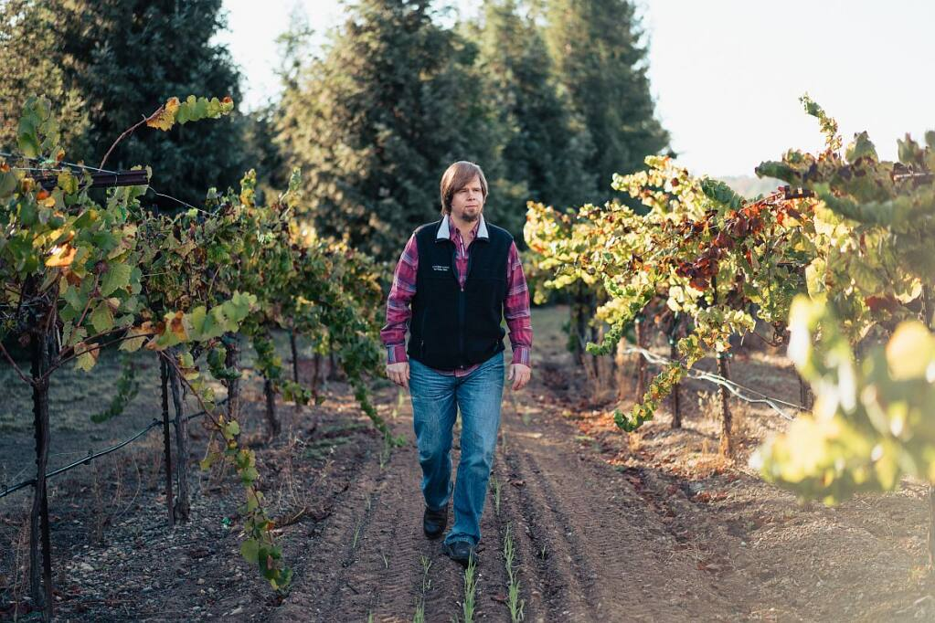 The winners of the Murphy-Goode Winery job search will shadow Winemaker Dave Ready Jr. (Courtesy of Murphy-Goode)