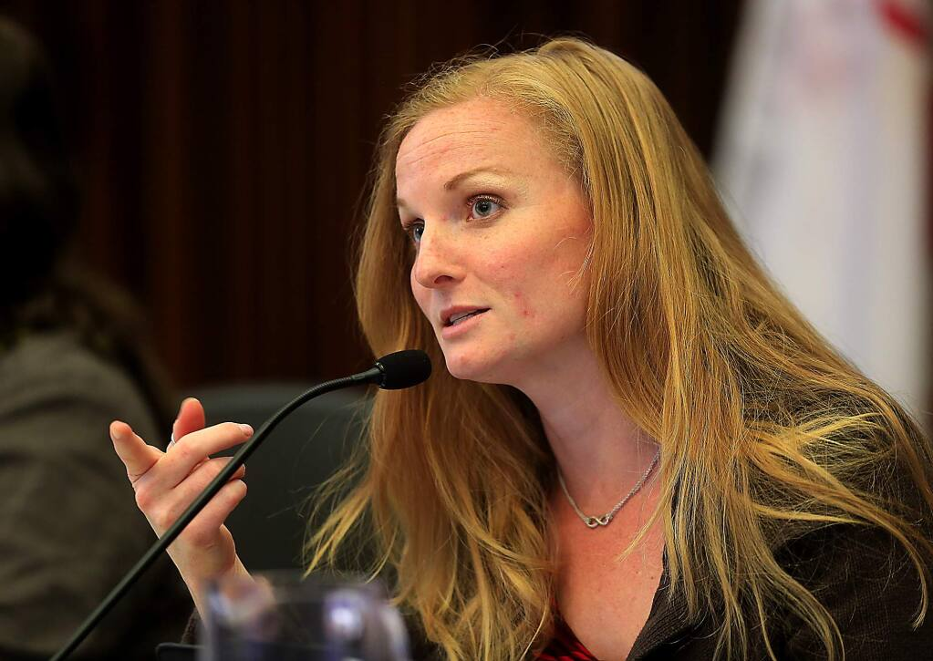 Santa Rosa City Council Member Erin Carlstrom (JOHN BURGESS/ PD FILE)