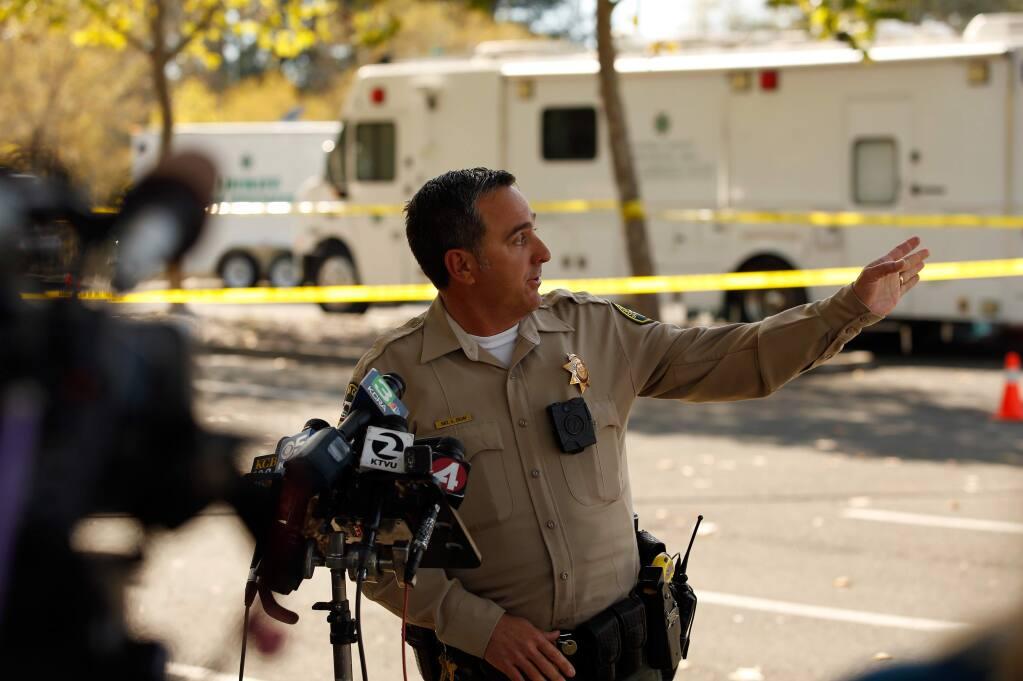Sonoma County Sheriff's Sergeant Spencer Crum. (Alvin Jornada / The Press Democrat)
