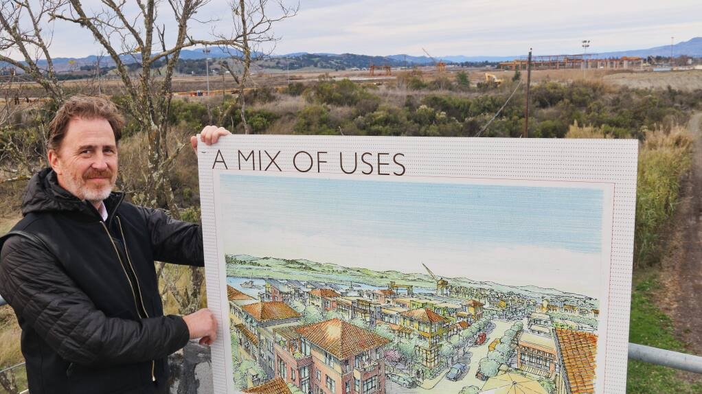 Construction To Start This Spring On Napa Costco Store And First Of Around 700 Homes