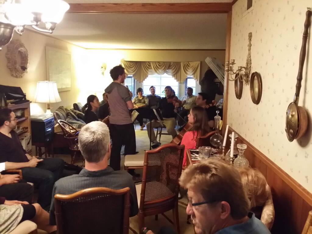 provided by dave murphyGroupmuse allows users to sign up to host a free classical music concert in their home. The concept has become popular on the East Coast and has been gaining a following in the Bay Area.