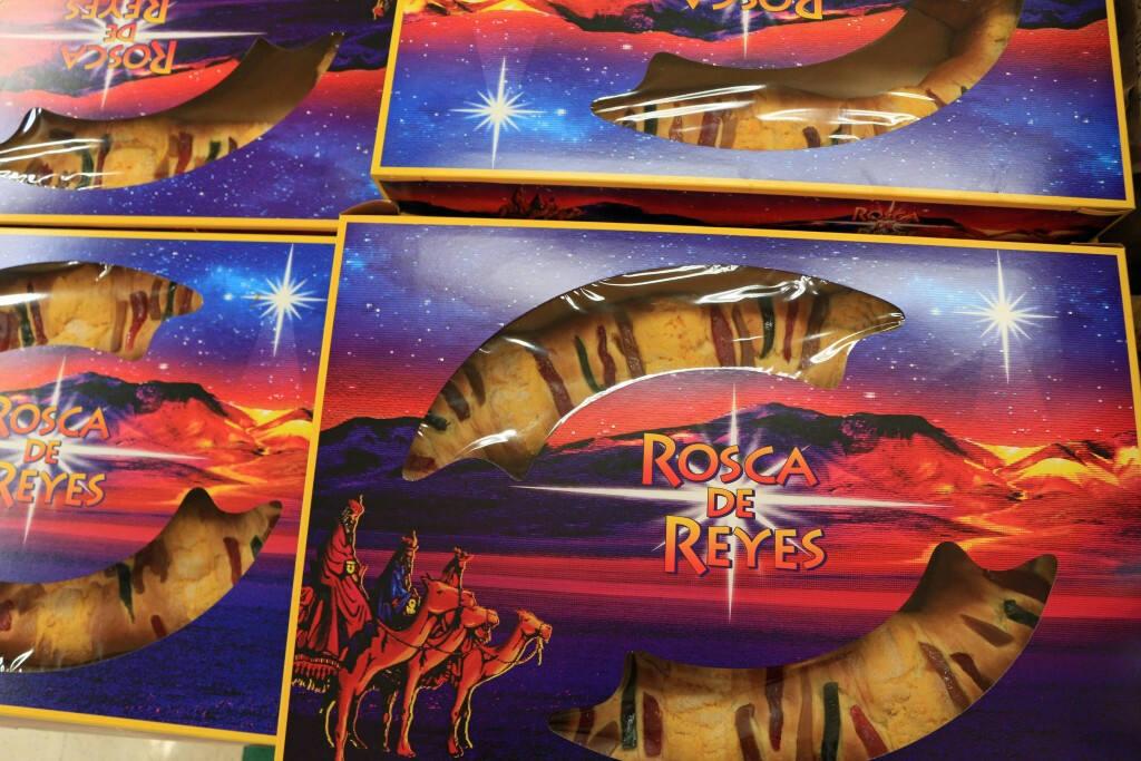 Rosca de reyes en Lola's Market. Ricardo Ibarra/La Prensa Sonoma