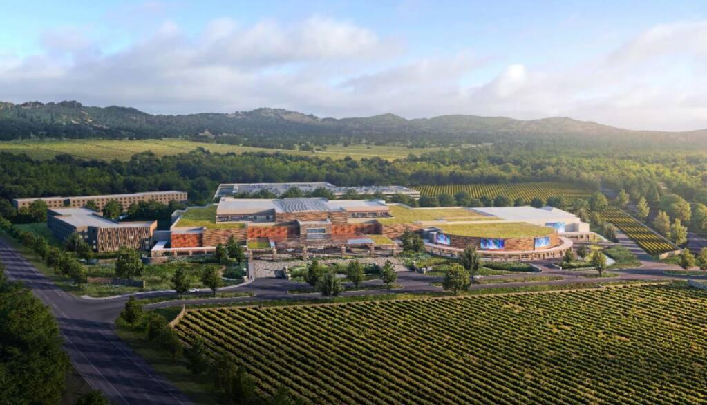 Shiloh Resort & Casino rendering (Koi Nation Sonoma)