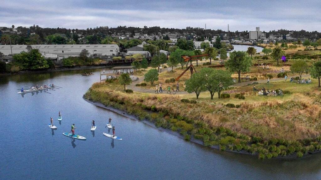 Photo illustration courtesy of The Petaluma River Park Foundation.