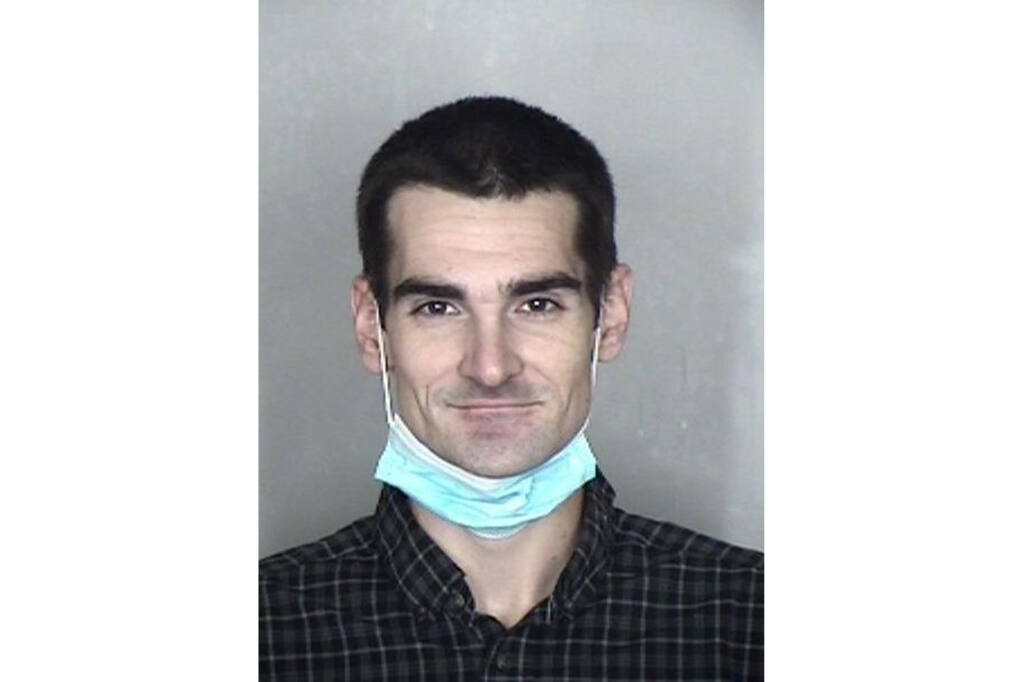 In this undated photo provided by the Butte County Sheriff's Office is Michael Berry. Berry, an inmate who escaped Monday, Jan. 25, 2021, from a Northern California jail is back in custody, authorities said. Berry escaped from the Butte County Jail in Oroville, Calif., while deputies were conducting a check of inmates in the minimum security dorm of the jail, the Butte County Sheriff's Office said in a statement. (Butte County Sheriff's Office via AP)